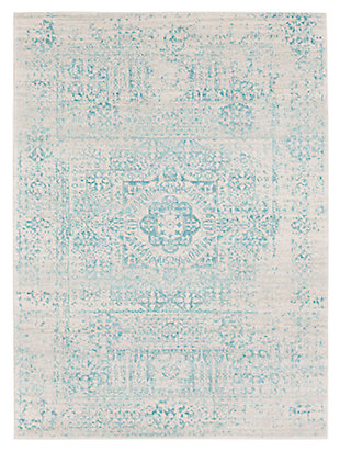 "Home Accents Harput 5' 3"" x 7' 3"" Area Rug, Green, large"