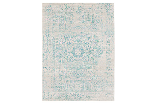 Home Accents Harput 2' x 3' Area Rug, Green, large