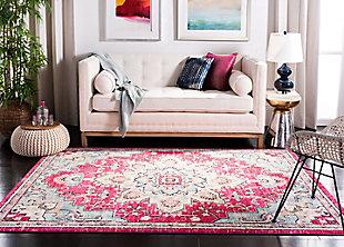 Safavieh Madison 5'-3 x 7'-6 Area Rug, Red/Burgundy, large