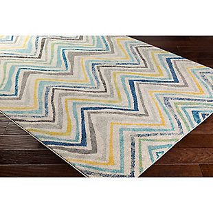 "Home Accents Harput 5' 3"" x 7' 3"" Area Rug, Blue, rollover"