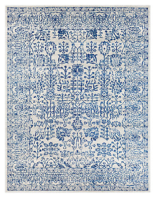 "Home Accents Harput 7' 10"" x 10' 3"" Area Rug, Dark Blue, large"
