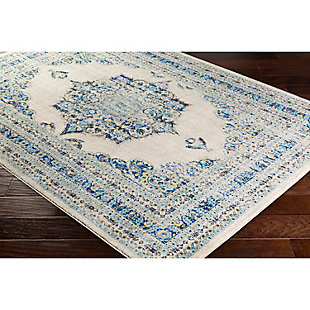 "Home Accents Harput 3' 11"" x 5' 7"" Area Rug, Dark Blue, rollover"