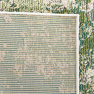 Safavieh Madison 3' x 3' Square Area Rug, Green, large