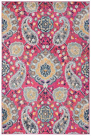 Safavieh Madison 5'-1 x 7'-6 Area Rug, Red/Burgundy, large
