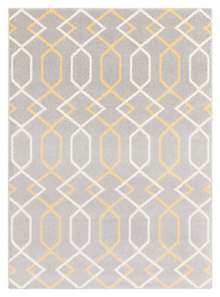 "Home Accents Horizon 3' 3"" x 5' Area Rug, Beige, large"