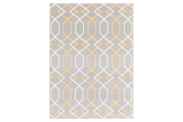 Home Accents Horizon 2' x 3' Area Rug, Beige, large