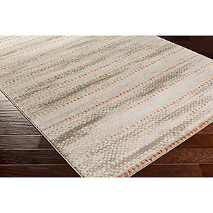 "Home Accents Jax 2' 2"" x 3' Area Rug, Gray, rollover"