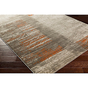 "Home Accents Jax 7' 6"" x 10' 6"" Area Rug, Orange, large"