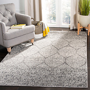 Safavieh Madison 5'-1 x 7'-6 Area Rug, Black/Gray, rollover