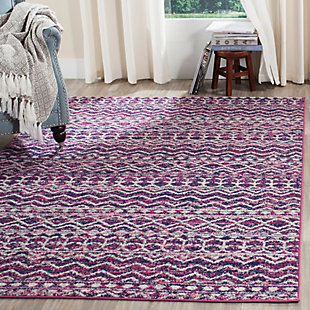 Safavieh Madison 5'-1 x 7'-6 Area Rug, Red/Burgundy, rollover