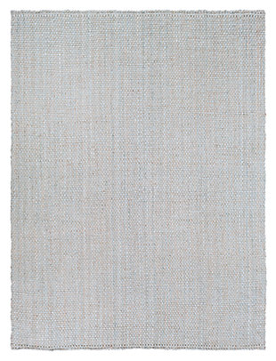 "Home Accents Jute Woven 8' x 10' 6"" Area Rug, Gray, large"