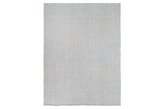 """Home Accents Jute Woven 8' x 10' 6"""" Area Rug, Gray, large"""