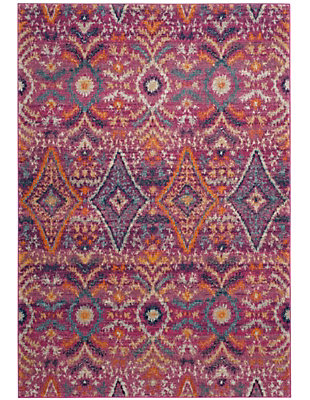 Safavieh Madison 5'-1 x 7'-6 Area Rug, Red/Burgundy, large