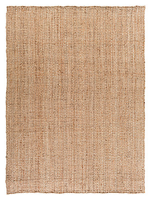 "Home Accents Jute Woven 8' x 10' 6"" Area Rug, Wheat, large"