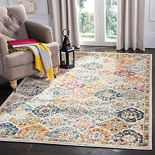 Safavieh Madison 5'-1 x 7'-6 Area Rug, White, rollover