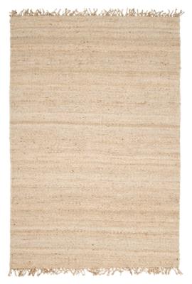 Surya World Needle Jute Bleach 4' x 6' Area Rug, Cream, large