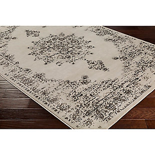 "Home Accents Kaitlyn 5' 3"" x 7' 6"" Area Rug, Gray, rollover"