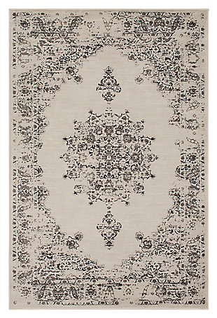 "Home Accents Kaitlyn 7' 10"" x 10' 6"" Area Rug, Gray, large"