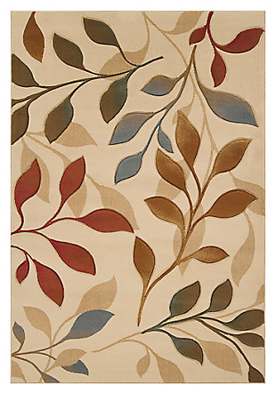 "Home Accents Majestic 5' 3"" x 7' 3"" Area Rug, Beige, large"