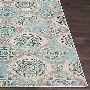 "Home Accents Mavrick 2' 2"" x 4' Area Rug, Beige, large"