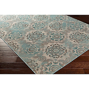 "Home Accents Mavrick 2' 8"" x 5' Area Rug, Beige, large"