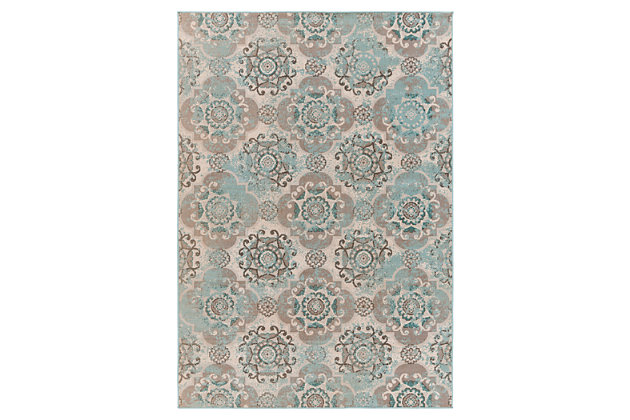 "Home Accents Mavrick 5' 4"" x 7' 8"" Area Rug 