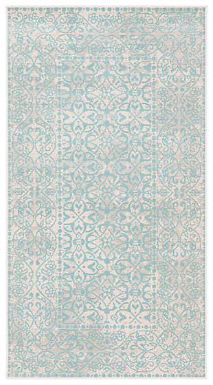 "Home Accents Mavrick 2' 8"" x 5' Area Rug, Green, large"