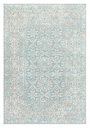 "Home Accents Mavrick 7' 11"" x 11' Area Rug, Green, large"