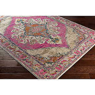 "Home Accents Marrakesh 5' 3"" x 7' 3"" Area Rug, Red, rollover"