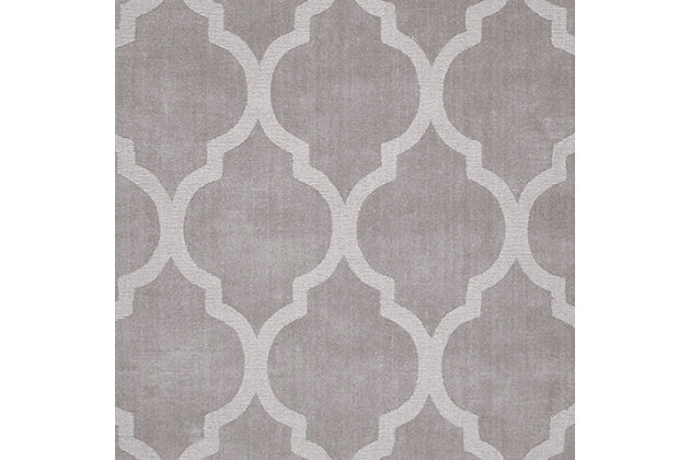Nuloom Hand Tufted Maybell 5' x 8' Area Rug, Gray, large