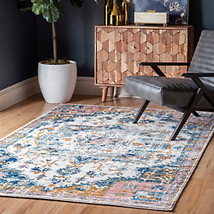 Nuloom Angelica Bloom In Blossom 5' x 8' Area Rug, Multi, rollover