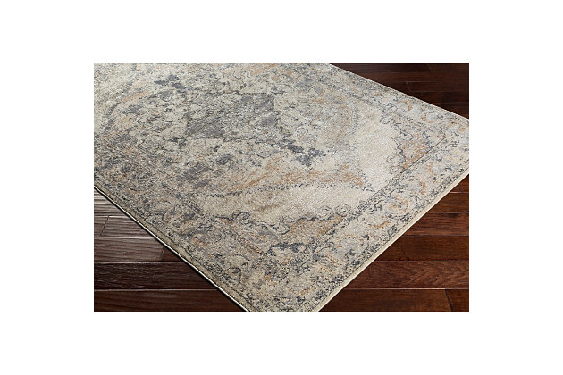 Home Accents Marrakesh 2' x 3' Area Rug, Beige, large