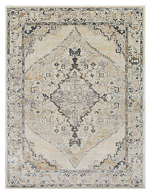 "Home Accents Marrakesh 7' 10"" x 10' 3"" Area Rug, Beige, large"