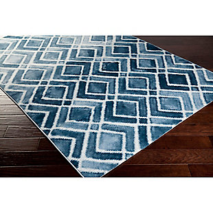 "Home Accents Nova 3' 9"" x 5' 2"" Area Rug, Blue, rollover"