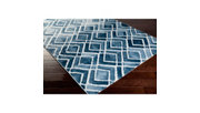 "Home Accents Nova 7' 8"" x 10' 6"" Area Rug, Blue, rollover"