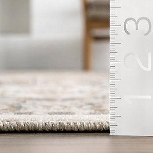 Nuloom Melange Tiles 5' x 8' Area Rug, Beige, large
