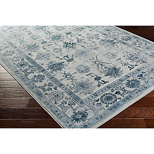 "Home Accents Nova 3'9"" x 5'2"" Area Rug, Blue, rollover"