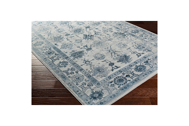 "Home Accents Nova 3'9"" x 5'2"" Area Rug, Blue, large"