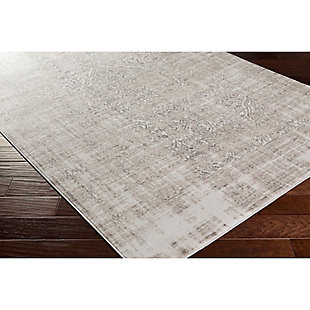 "Home Accents Nova 5' 2"" x 7' 6"" Area Rug, Gray, rollover"