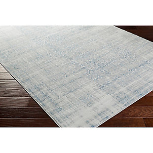 "Home Accents Nova 5' 2"" x 7' 6"" Area Rug, Blue, rollover"