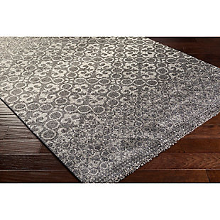 "Home Accents Pembridge 4' x 5' 6"" Area Rug, Gray, large"