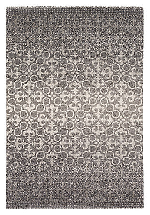 "Home Accents Pembridge 2' x 3' 6"" Area Rug, Gray, large"