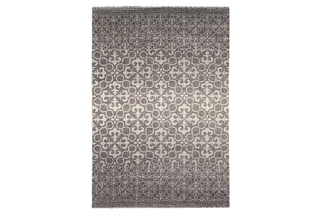 "Home Accents Pembridge 7' 9"" x 10' 8"" Area Rug, Gray, large"