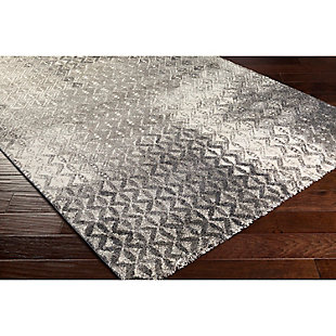 "Home Accents Pembridge 4' x 5' 6"" Area Rug, Gray, rollover"