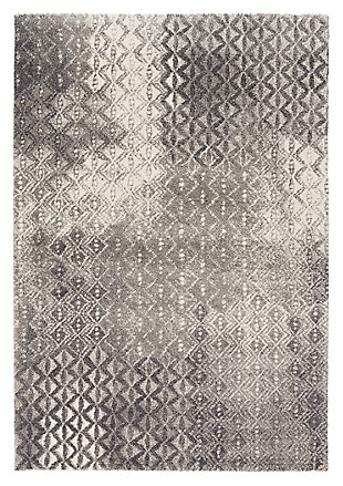 "Home Accents Pembridge 5' 2"" x 7' 6"" Area Rug, Gray, large"