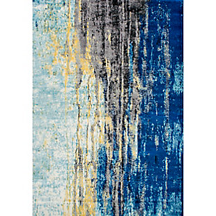 "Nuloom Katharina Abstract Waterfall 5' x 7' 5"" Area Rug, Blue, large"