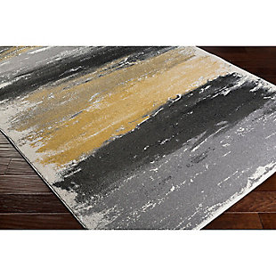 "Home Accents Pepin 5' 3"" x 7' 6"" Area Rug, Black, rollover"