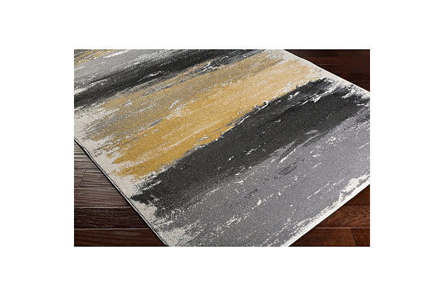 "Home Accents Pepin 5' 3"" x 7' 6"" Area Rug, Black, large"