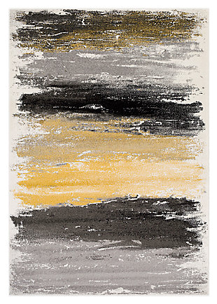 "Home Accents Pepin 7'11"" x 10' Area Rug, Black, large"