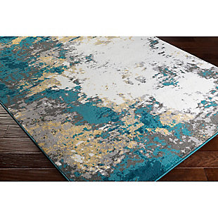 "Home Accents Pepin 5' 3"" x 7' 6"" Area Rug, Blue, rollover"
